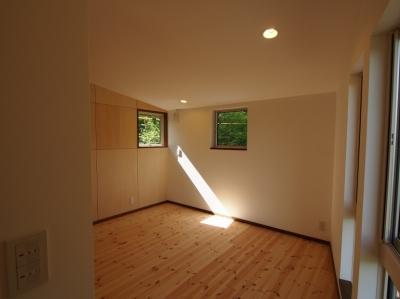 寝室 (軽井沢 食癒の家)
