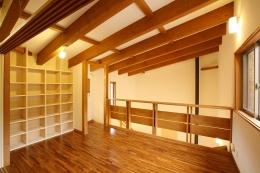軽井沢 浅間山の家 (子供部屋)
