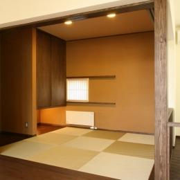 軽井沢 wa・e・nの家 (和室)