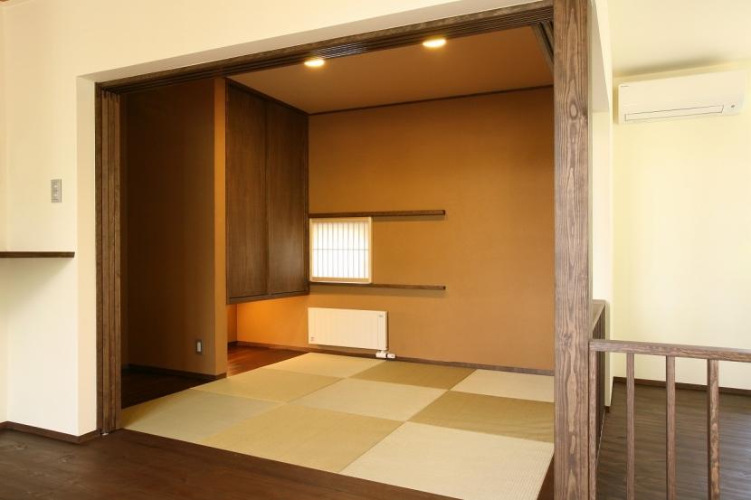 軽井沢 wa・e・nの家の写真 和室