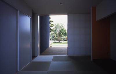 和室 (谷和原のいえ)