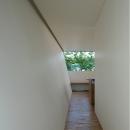 梅が丘の家 廊下