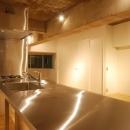 MÖBIUSの写真 キッチン天板