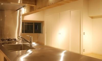 MÖBIUS (キッチン天板)