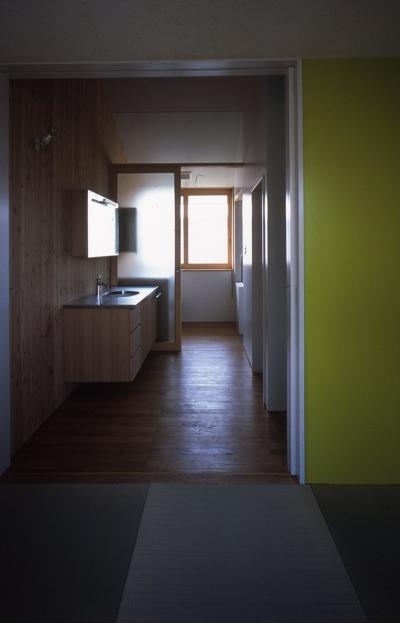 キッチン3 (谷和原のいえ)
