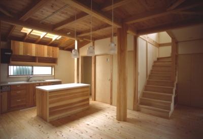上尾の家 (手づくりキッチン)