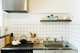 代々木のDINKSの住まい (キッチン)