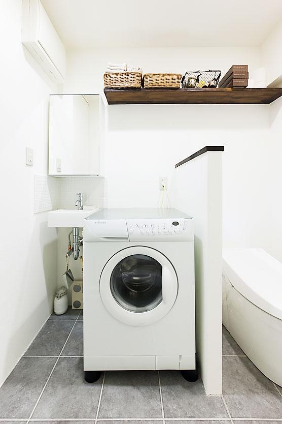代々木のDINKSの住まいの写真 バスルーム