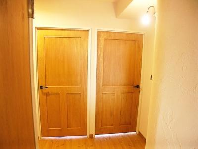 フレンチカントリーなドア (フレンチカントリーの家)