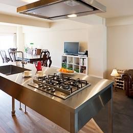 江ノ島ヴィンテージマンション (ステンレス製キッチン)