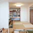LDKと一体感のある畳スペース