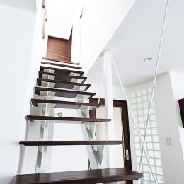 モダンデザインハウス (階段)
