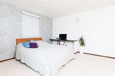 寝室 (モダンデザインハウス)