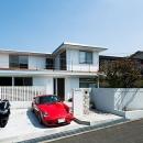 トラストの住宅事例「モダンデザインハウス」