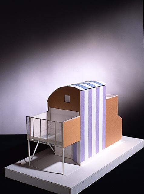 K house-1の部屋 模型
