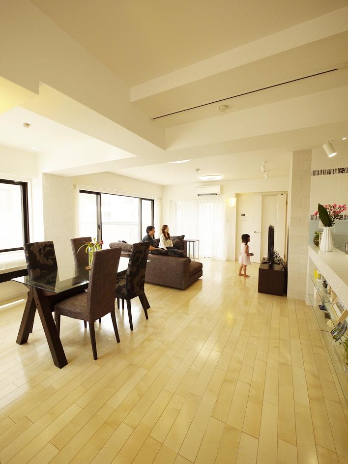 case100・リノベーションで手にいれた、ホテルライクな暮らし。の部屋 LDK