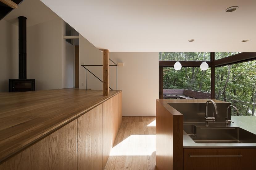 段のいえの部屋 キッチン1