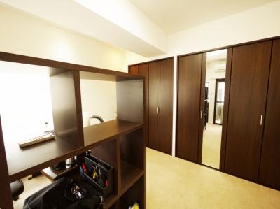 書斎 (case100・リノベーションで手にいれた、ホテルライクな暮らし。)