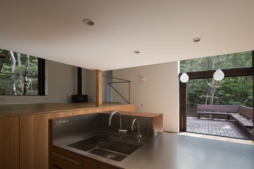 段のいえの部屋 キッチン2