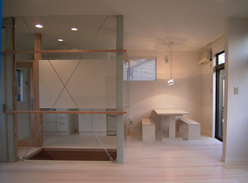 O house-1の部屋 食堂 台所