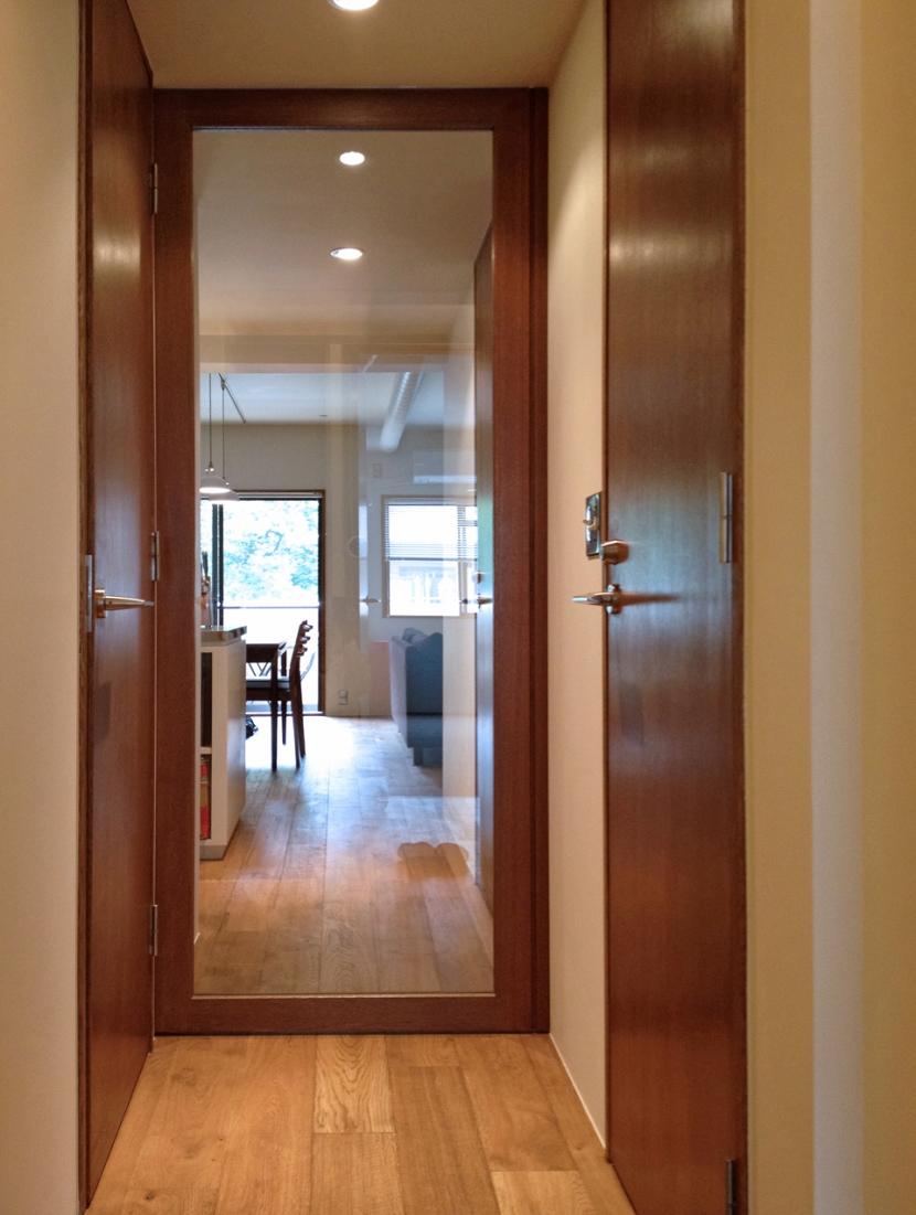 house n/kの部屋 廊下