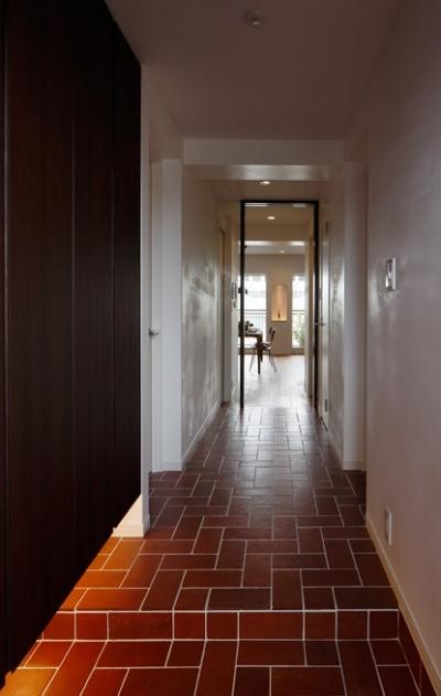 玄関 (自然素材でつくる、北欧暮らし)