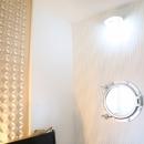 case114・地中海リゾートが漂う漆喰塗り壁の住まい。の写真 書斎