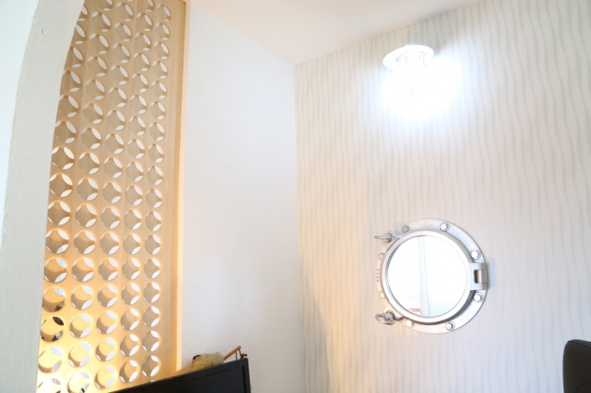 case114・地中海リゾートが漂う漆喰塗り壁の住まい。の部屋 書斎