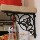 case114・地中海リゾートが漂う漆喰塗り壁の住まい。の写真 棚