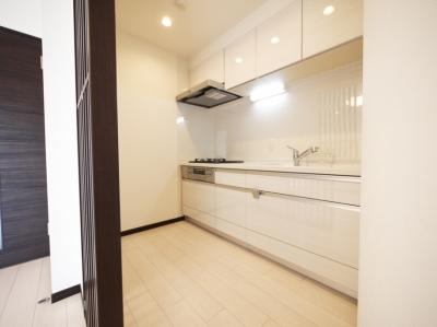 キッチン (case117・丁寧に仕上げたファミリー向けマンション。)