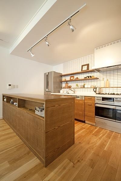 兵庫県F邸 (キッチン)