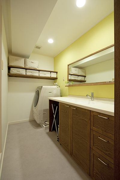 兵庫県F邸の部屋 洗面所