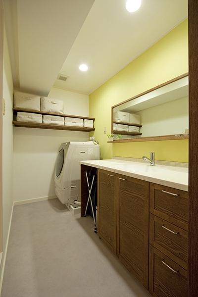 兵庫県F邸の写真 洗面所