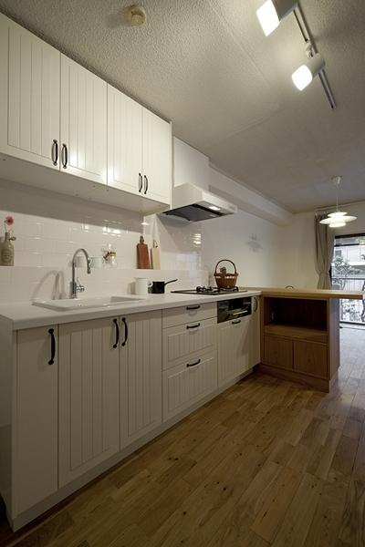 兵庫県O邸 (キッチン)