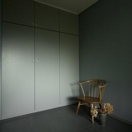兵庫県O邸-書斎