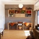 K邸・こだわりの家具と一緒に楽しむ住まいの写真 LDK