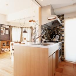 K邸・こだわりの家具と一緒に楽しむ住まい