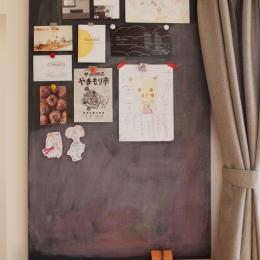黒板(リビング内カウンダーデスク)