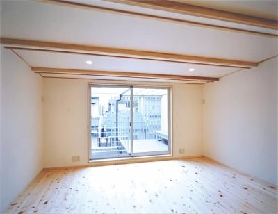 明るい子ども室 (京町家の再生)