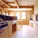 造り付けのオーダーキッチン