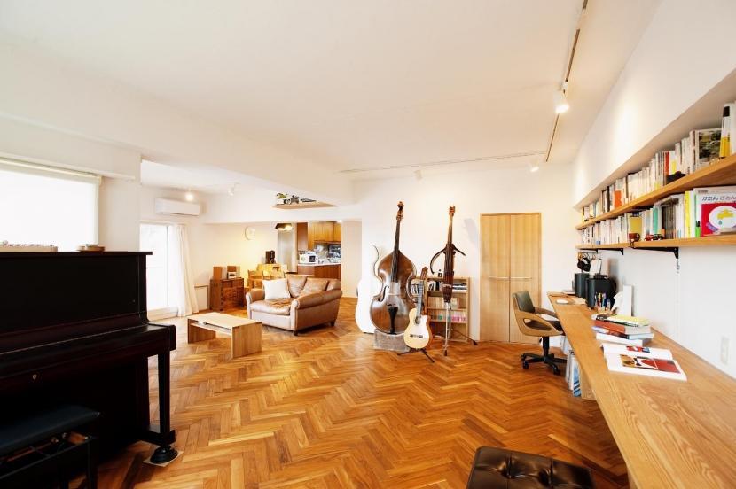 リノベーション・リフォーム会社:スタイル工房「O邸・演奏会のできる広々リビング」