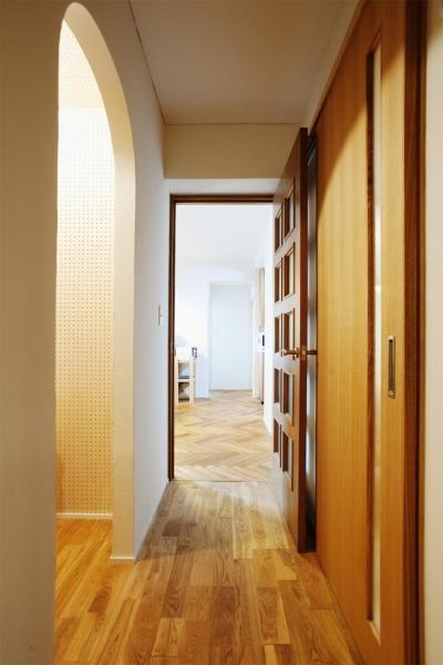 廊下 (O邸・演奏会のできる広々リビング)