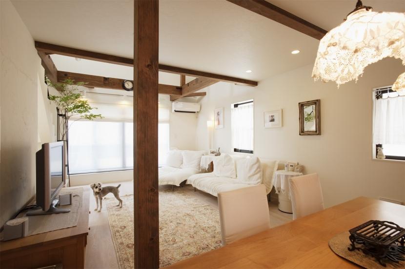リフォーム・リノベーション会社:スタイル工房「U邸・南欧の田舎家にあこがれてゆったり暮らす」
