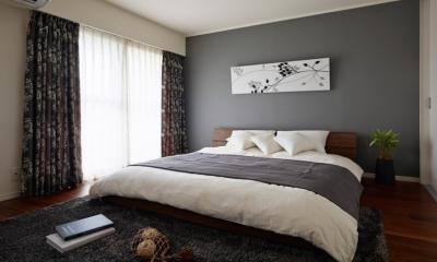 回遊性のある暮らし (寝室)