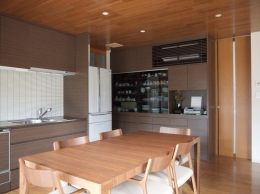 野洲の家 (キッチン)