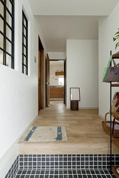 兵庫県M邸の部屋 玄関2