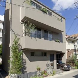 兵庫県T邸 (外観)