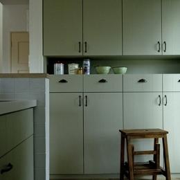 兵庫県K邸-キッチン