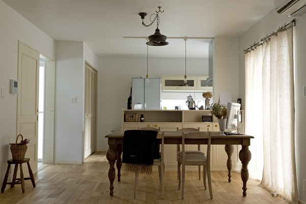 兵庫県M邸-こだわりのキッチンと暮らす-