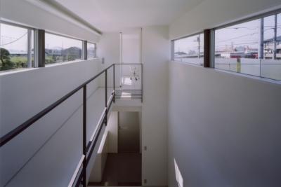 藤沢の住宅 (渡廊下)